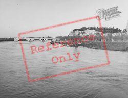 The River And Bridge c.1939, Avignon