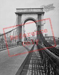 The Suspension Bridge c.1939, Avignon