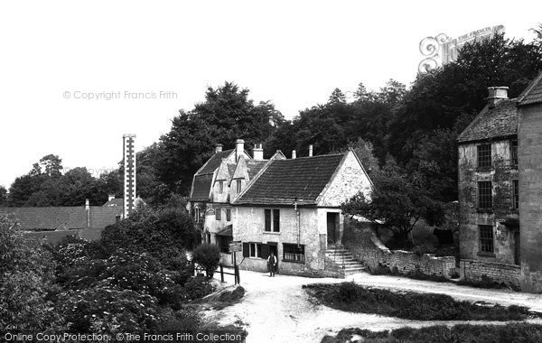 Photo of Avoncliff, The Cross Guns c.1900
