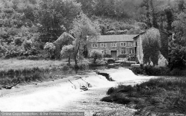 Photo of Avoncliff, The Weir c.1950