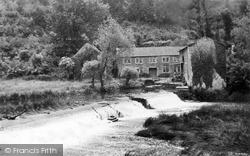 Avoncliff, The Weir c.1950