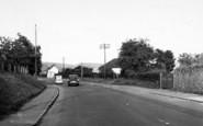 Axbridge, Cheddar Road c.1955