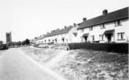 Axbridge, Chestnut Avenue c.1960