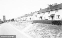 Axbridge, Chestnut Avenue c.1960