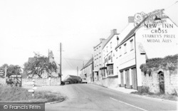 Axbridge, Compton Bishop Road c.1955