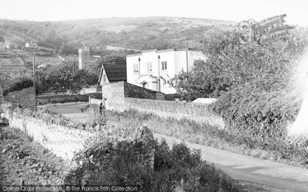 Photo of Axbridge, General View c.1955