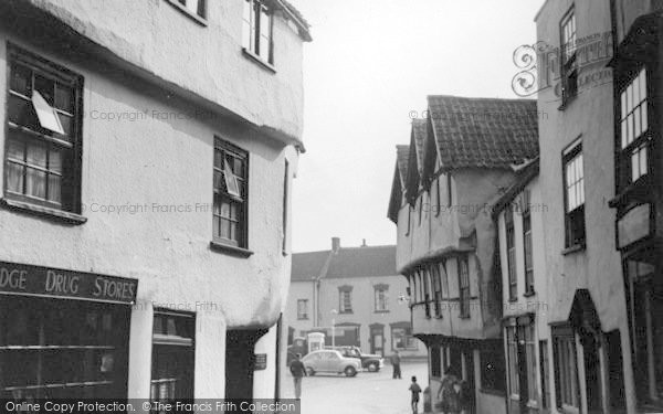Photo of Axbridge, High Street c.1950