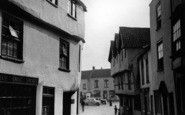 Axbridge, High Street c.1950