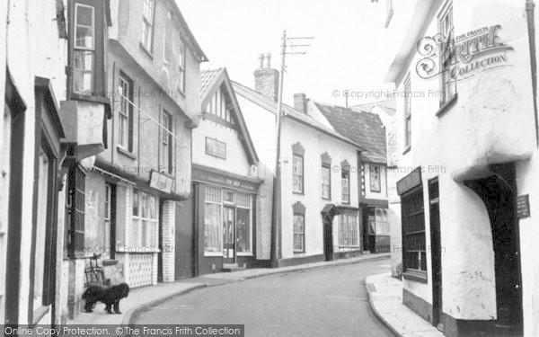 Photo of Axbridge, High Street c.1955