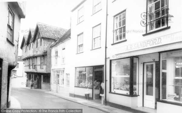 Photo of Axbridge, High Street c.1965