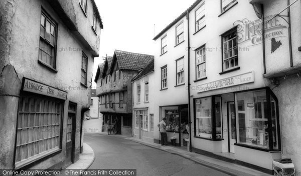 Photo of Axbridge, High Street c.1965