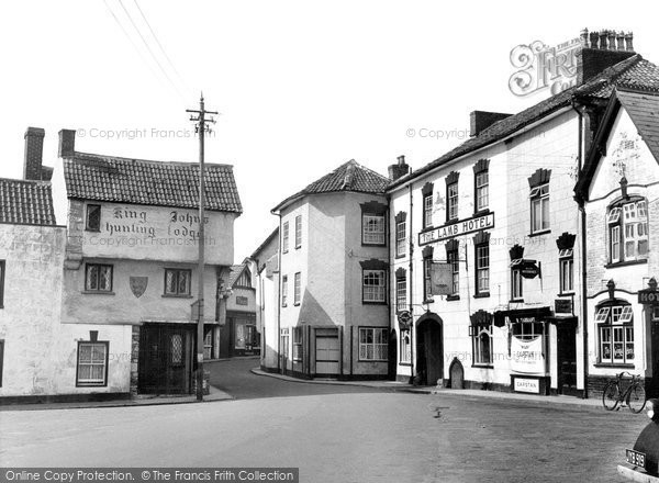 Photo of Axbridge, King John's Hunting Lodge c.1950