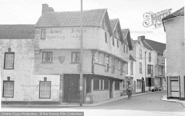 Photo of Axbridge, King John's Hunting Lodge c.1955