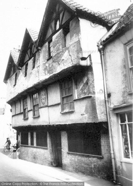 Photo of Axbridge, King John's Hunting Lodge c.1960
