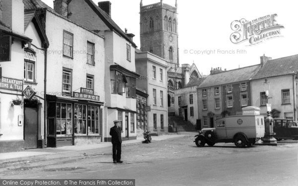 Photo of Axbridge, Market Place c.1939