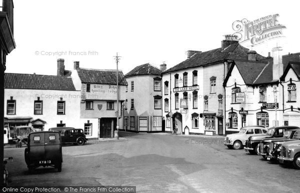 Photo of Axbridge, Market Place c.1955