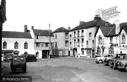Axbridge, Market Place c.1955