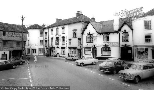 Photo of Axbridge, Market Place c.1965