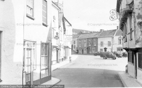 Photo of Axbridge, Market Square From High Street c.1955