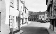 Axbridge, Market Square From High Street c.1955