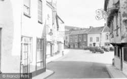Axbridge, Market Square From High Street c.1955