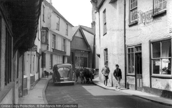 Photo of Axbridge, Old Town c.1939