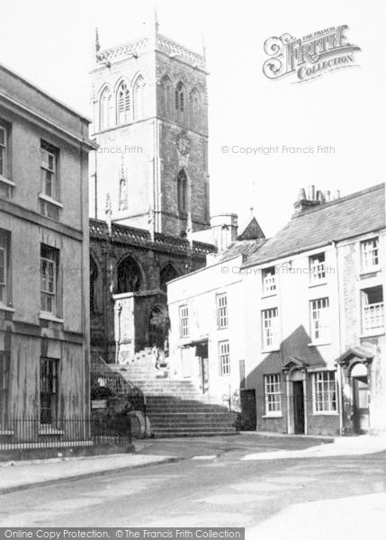 Photo of Axbridge, St John's Church c.1955