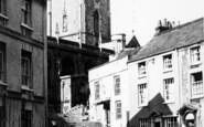 Axbridge, St John's Church c.1955
