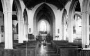 Axbridge, St John's Church Interior c.1955