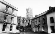Axbridge, St John The Baptist Church c.1960