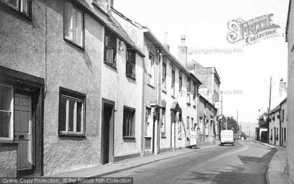 Photo of Axbridge, St Mary's Street c.1955