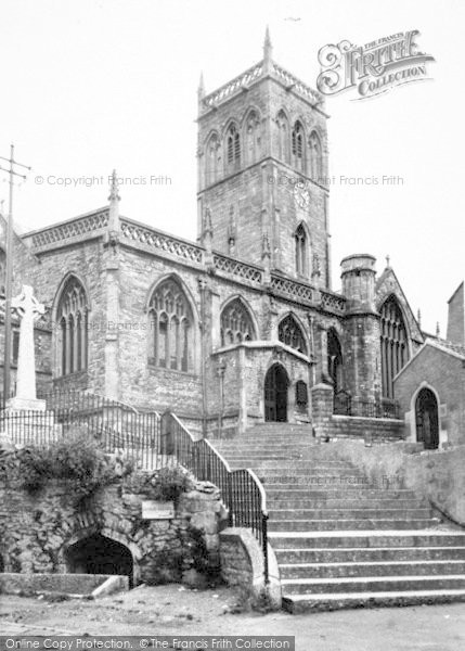 Photo of Axbridge, The Church c.1955
