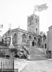 Axbridge, The Church c.1955