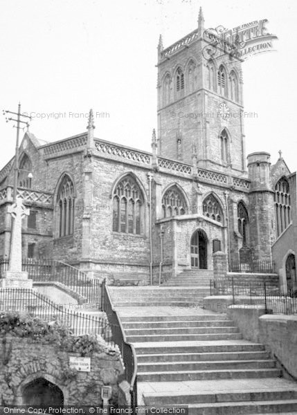 Photo of Axbridge, The Church c.1955
