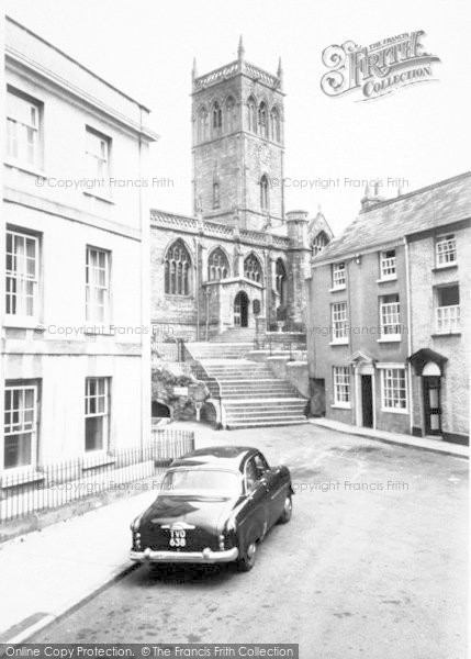 Photo of Axbridge, The Church c.1960