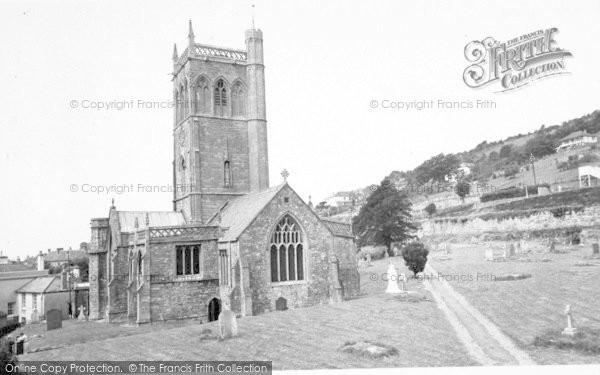 Photo of Axbridge, The Church c.1965