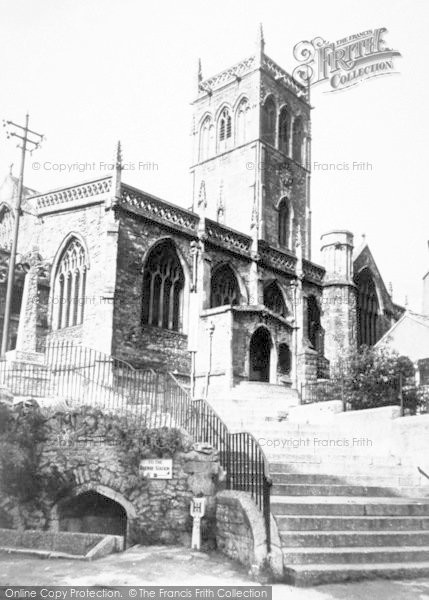 Photo of Axbridge, The Church c.1965
