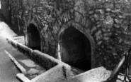 Axbridge, The Old Wells c.1950