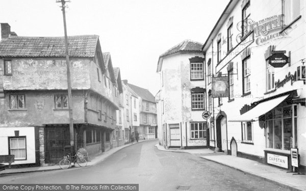 Photo of Axbridge, The Square And High Street c.1960