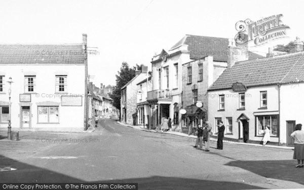 Photo of Axbridge, The Square c.1955