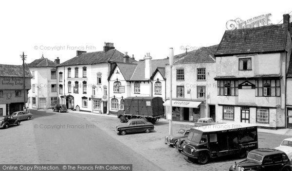 Photo of Axbridge, The Square c.1955