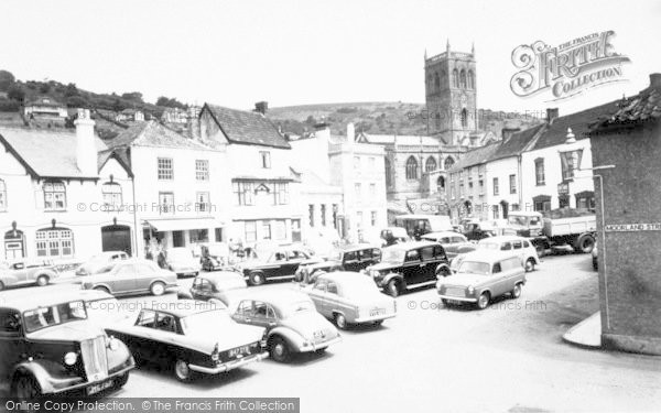 Photo of Axbridge, The Square c.1960
