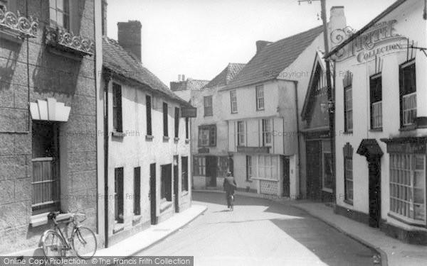 Photo of Axbridge, The Street c.1939