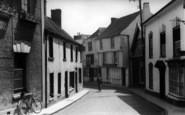 Axbridge, The Street c.1939