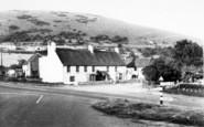 Axbridge, View From New Inn c.1955