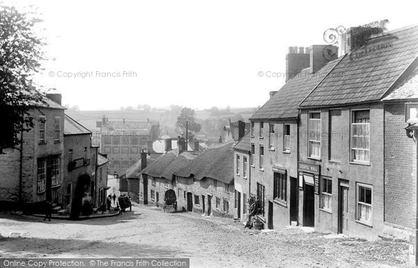 Photo of Axminster, Castle Hill 1902