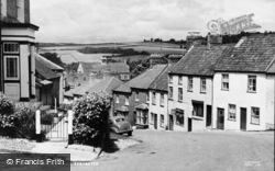 Axminster, Castle Hill c.1960