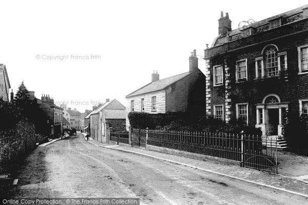 Photo of Axminster, Chard Street 1902