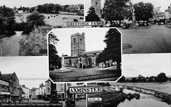 Photo of Axminster, Composite c.1960