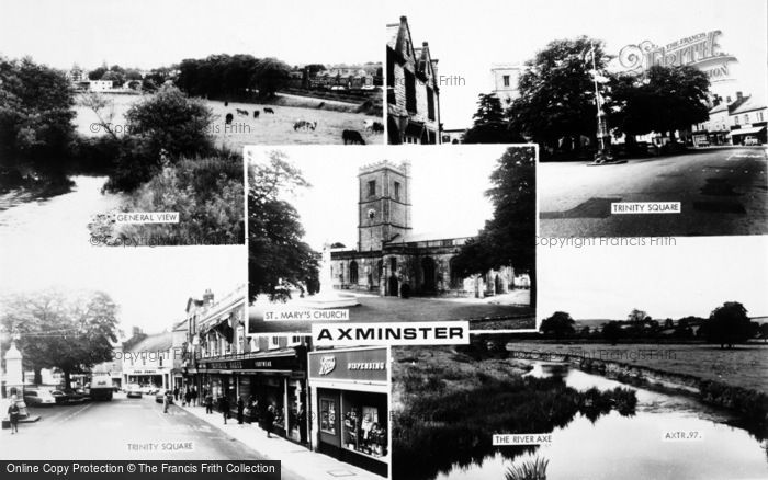 Photo of Axminster, Composite c.1965